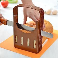 abordables Utensilios para frutas y verduras-El plastico Cocina creativa Gadget para el pan Cutter & Slicer