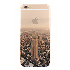 tanie Etui do iPhone 6s Plus-New York wzór TPU miękki futerał dla iPhone 6s 6 plus