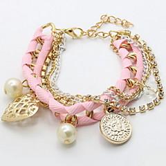 Dames Bedelarmbanden Verstelbaar Leder Sieraden Liefde Sieraden Voor Dagelijks Causaal