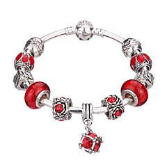 Women's New European Style Fashion Simple Heart Wings Charm Bracelet #YMGP1007 Christmas Gifts