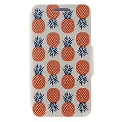 Недорогие Кейсы для iPhone 5-Для Кейс для iPhone 6 / Кейс для iPhone 6 Plus Бумажник для карт / со стендом Кейс для Чехол Кейс для Фрукт Твердый Искусственная кожа