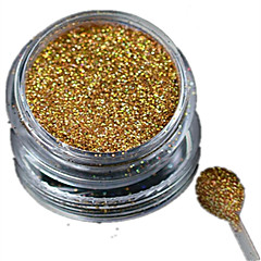 Nail Jewelry / Glitter & Powder-Muuta-Häät-Sormi / Varvas-2.6*2.6cm-1 bottle