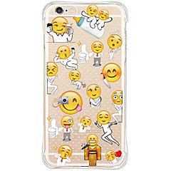 Для Кейс для iPhone 6 / Кейс для iPhone 6 Plus Защита от удара / Водонепроницаемый Кейс для Задняя крышка Кейс для Плитка Мягкий TPU Apple