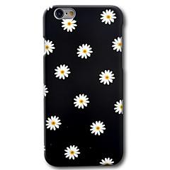 olcso iPhone 6s Plus tokok-Case Kompatibilitás Apple iPhone 8 iPhone 8 Plus iPhone 6 iPhone 6 Plus Minta Fekete tok Virág Kemény PC mert iPhone 8 Plus iPhone 8