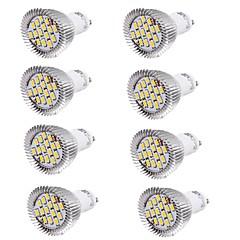 preiswerte LED-Birnen-YouOKLight 8St 6W 450-500lm GU10 LED Spot Lampen MR16 15 LED-Perlen SMD 5630 Dekorativ Warmes Weiß Kühles Weiß 100-240V 85-265V 220-240V