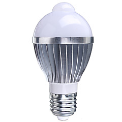 cheap LED Bulbs-B22 E26/E27 LED Smart Bulbs A50 1 High Power LED 400-550 lm RGB 2000-3500 K Sensor Infrared Sensor AC 85-265 V