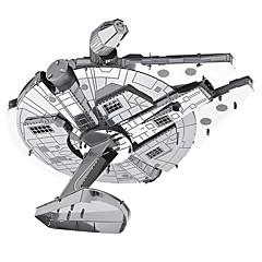hesapli -Millennium Falcon 3D Yapbozlar Metal Yapbozlar Modely Uzay Aracı 3D Metal Savaş Hediye
