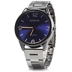 preiswerte Tolle Angebote auf Uhren-Herren Kleideruhr Armbanduhr Quartz / Legierung Band Bequem Blau Silber