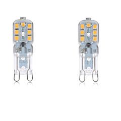2.5W G9 LED Bi-pin Lights T 14 SMD 2835 200-250 lm Warm White Cold White 2700-6500K K Waterproof Decorative AC 220-240 AC 110-130 V