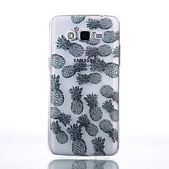 お買い得  Samsung その他の機種用ケース/カバー-ケース 用途 Samsung Galaxy Samsung Galaxy ケース クリア バックカバー 果物 ソフト TPU のために J7 / J5 (2016) / J5
