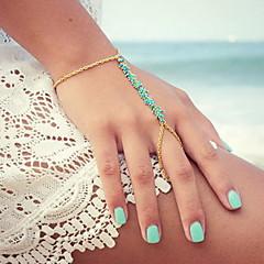 Dame Ring Bracelets La modă Ștrasuri Confecționat Manual European costum de bijuterii Aliaj Bijuterii Pentru Zilnic Casual