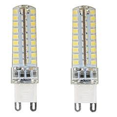 preiswerte LED-Birnen-2pcs 4.5W 350-400lm G9 LED Doppel-Pin Leuchten T 72 LED-Perlen SMD 2835 Abblendbar Wasserfest Dekorativ Warmes Weiß Kühles Weiß