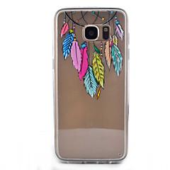 tanie Galaxy S6 Etui / Pokrowce-Na Samsung Galaxy S7 Edge Przezroczyste / Wzór Kılıf Etui na tył Kılıf Łapacz snów Twarde Akrylowy SamsungS7 edge / S7 / S6 edge / S6 /