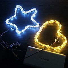 preiswerte LED Lichtstreifen-usb 5m schnur beleuchtet 50 leds wasserdichte lampe weihnachten hochzeit neues jahr
