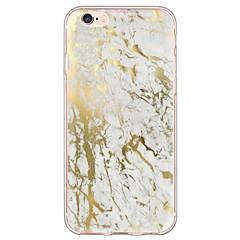 Для Кейс для iPhone 6 / Кейс для iPhone 6 Plus Ультратонкий / Полупрозрачный Кейс для Задняя крышка Кейс для Камуфляж Мягкий TPU Apple