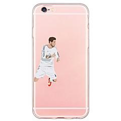 お買い得  iPhone 5S/SE ケース-のために iPhone 6ケース / iPhone 6 Plusケース 超薄型 / 半透明 ケース バックカバー ケース カトゥーン ソフト TPU Apple iPhone 6s Plus/6 Plus / iPhone 6s/6 / iPhone SE/5s/5