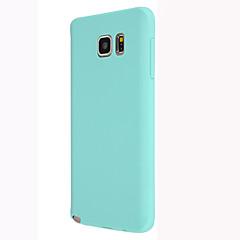 abordables Galaxy Note 3 Carcasas / Fundas-Funda Para Samsung Galaxy Samsung Galaxy Note Funda Trasera Color sólido TPU para Note 5 Note 4 Note 3