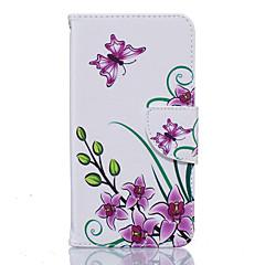 إلى نوكيا حالة محفظة / حامل البطاقات / ضد الصدمات / ضد الغبار / مع حامل غطاء كامل الجسم غطاء فراشة ناعم جلد اصطناعي Nokia