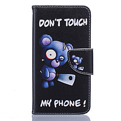 voordelige Hoesjes / covers voor Nokia-Voor Nokia hoesje Portemonnee / Kaarthouder / Schokbestendig / Stofbestendig / met standaard hoesje Volledige behuizing hoesje Cartoon