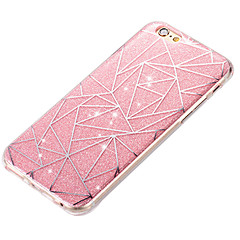 Takakuori Iskunkestävä / IMD geometrinen kuvio Akryyli Kova Tapauksessa kattaa Apple iPhone 6s Plus/6 Plus / iPhone 6s/6 / iPhone SE/5s/5