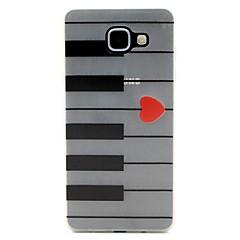 Varten Motorola kotelo Hehkuu pimeässä Etui Takakuori Etui Linjat / aallot Pehmeä TPU Motorola Moto G4 Play / MOTO G4