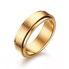 رخيصةأون -للرجال خواتم حزام موضة والمجوهرات الفولاذ المقاوم للصدأ مجوهرات من أجل زفاف حزب يوميا فضفاض هدايا عيد الميلاد