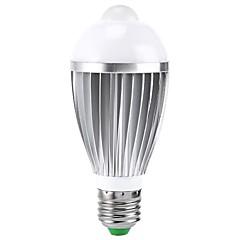 cheap LED Bulbs-E26/E27 B22 LED Smart Bulbs A50 1 High Power LED 400-550 lm RGB 2000-3500 K Sensor Infrared Sensor AC 85-265 V