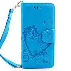 Для Кейс для iPhone 7 / Кейс для iPhone 6 Кошелек / Бумажник для карт / Флип / С узором / Магнитный / Рельефный Кейс для Чехол Кейс дляС