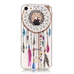 お買い得  iPhone 5S/SE ケース-ケース 用途 Apple iPhone 6 Plus / iPhone 6 IMD / 超薄型 / クリア バックカバー ドリームキャッチャー ソフト TPU のために iPhone 6s Plus / iPhone 6s / iPhone 6 Plus
