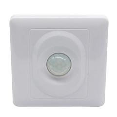 sensor de movimiento IR control automático panel de interruptores de luz LED (AC200-240V)