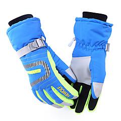 قفازات الدراجة قفازات التزلج للرجال للمرأة الدفء مقاوم للماء ضد الهواء كنفا التزلج