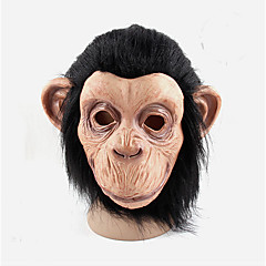 お買い得  ホームデコレーション-コスプレ男性の女性はパーティーボールゴムフルフェイスマルディのフォアグラマスク衣装ハロウィーンボールラテックスマスク猿マスクラテックス