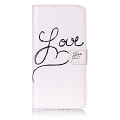 Для Кейс для iPhone 7 / Кейс для iPhone 7 Plus / Кейс для iPhone 6 Бумажник для карт / Кошелек / со стендом / Флип / Рельефный / С узором