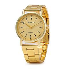 お買い得  大特価腕時計-女性用 ファッションウォッチ / ステンレス バンド ヴィンテージ / カジュアル ゴールド / SSUO LR626