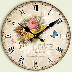 현대/현대 기타 벽 시계,라운드 기타 34*34*3cm 실내 시계