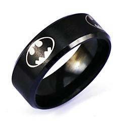 お買い得  指輪-指輪 Outros パンクスタイル Rock 日常 カジュアル ジュエリー 合金 男性 バンドリング 1個,6 7 8 9 10 シルバー