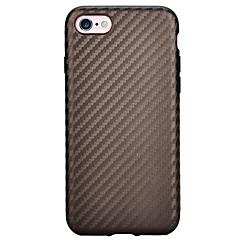 Для Защита от удара Кейс для Задняя крышка Кейс для Один цвет Мягкий TPU AppleiPhone 7 Plus / iPhone 7 / iPhone 6s Plus/6 Plus / iPhone
