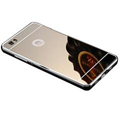 tanie Etui / Pokrowce do Huawei-Czarne etui Powłoka / Lustro Tek Renk Akrylowy Twardy Skrzynki pokrywa Dla HuaweiHuawei P8 / Huawei P8 Lite / Huawei P7 / Huawei Honor 6