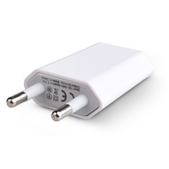EU Plug USB-oplader voor iPhone 4 / 4S, iPhone 5 / 5s en iphone 6s 6 plus iphone 7 (5v, 1.5a)