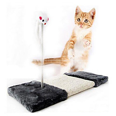 Zabawka dla kota Zabawki dla zwierząt Interaktywne Drapak Myszka Sznurkowy sizal
