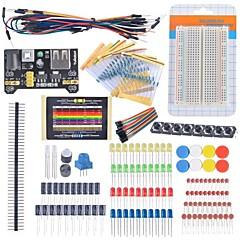 お買い得  ソーラー・コントローラー-arduinoの学習キット用スターター初心者キットブレッドボードケーブル抵抗コンデンサ主導ポテンショメータ