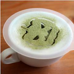 8kpl halloween muovi Garland multa suihke fancy kahvia maitovaahtoa tulostuksen malli mallinekuvio on satunnainen