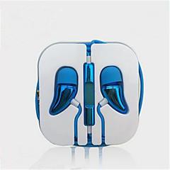 お買い得  ヘッドセット、ヘッドホン-H1027 耳の中 ケーブル ヘッドホン 動的 プラスチック 携帯電話 イヤホン マイク付き ヘッドセット