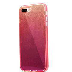 For iPhone 7 etui iPhone 6 etui iPhone 5 etui Spejl Etui Bagcover Etui Glitterskin Blødt TPU for AppleiPhone 7 Plus iPhone 7 iPhone 6s
