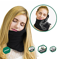 Utazópárna Hordozható Összecsukható Pihenő Géppel mosható Kényelmes Csökkenti a nyak- és vállfájdalmat Állítható Állpánt Utazás