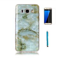 billige Andre etuier / covers til Samsung-Etui Til Samsung Galaxy J7 (2016) J3 (2016) Mønster Bagcover Marmor Blødt TPU for J7 (2016) J7 J5 J3 (2016) Grand Prime