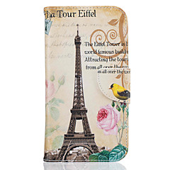 for Motorola Moto G4 Plus G4 Tower Pattern Leather PU Leather Material Leather Phone Case