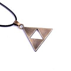 preiswerte Halsketten-Herrn Damen Anhängerketten - Einzigartiges Design Schwarz, Silber, Bronze Modische Halsketten Schmuck Für Party, Alltag