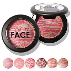 1 Rouge Tør Mat Glans Mineral Pudder Farvet glans Længerevarende Naturlig Ansigt Tilgængelig Farve Kina FOCALLURE