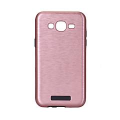 voordelige Overige hoesjes / covers voor Samsung-hoesje Voor Samsung Galaxy J7 (2016) J5 (2016) Ultradun Achterkantje Effen Kleur Hard PC voor J7 (2016) J7 J5 (2016) J5 J3 (2016) J1